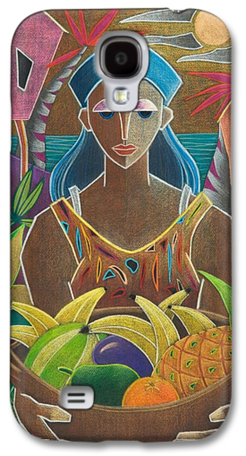 Female Galaxy S4 Case featuring the painting Ofrendas De Mi Tierra by Oscar Ortiz