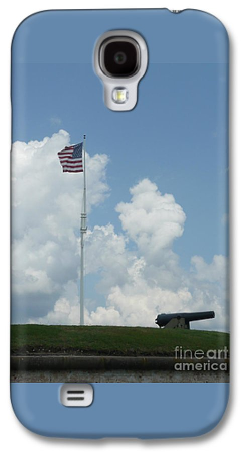 Flag Galaxy S4 Case featuring the photograph Oh Say Can You See by Barb Montanye Meseroll
