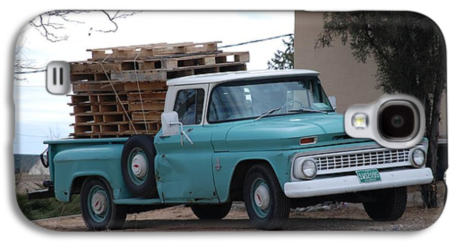 Old Truck Galaxy S4 Case featuring the photograph Old Chevy by Rob Hans