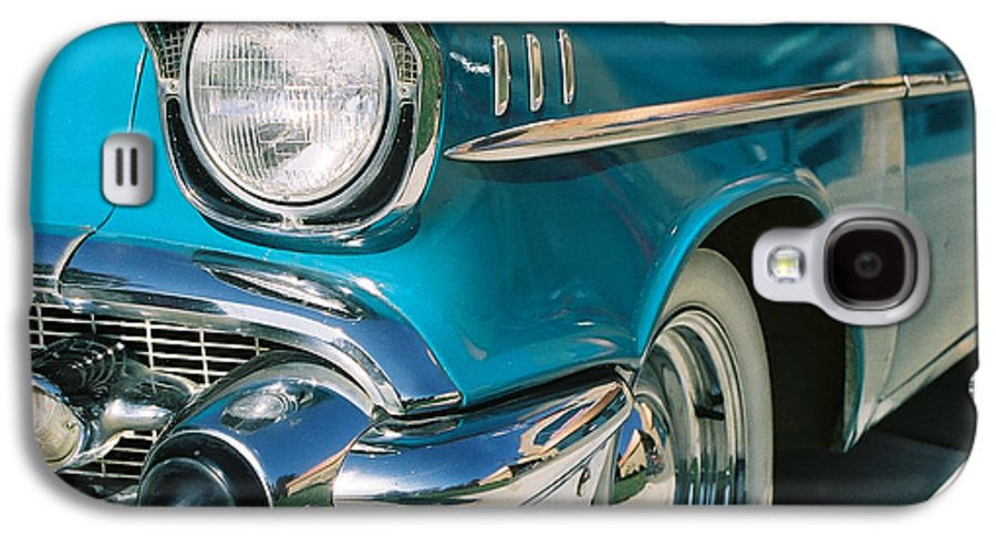 Chevy Galaxy S4 Case featuring the photograph Old Chevy by Steve Karol