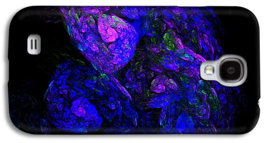 Abstract Digital Photo Galaxy S4 Case featuring the digital art Old Man Take A Look At Yourself by David Lane