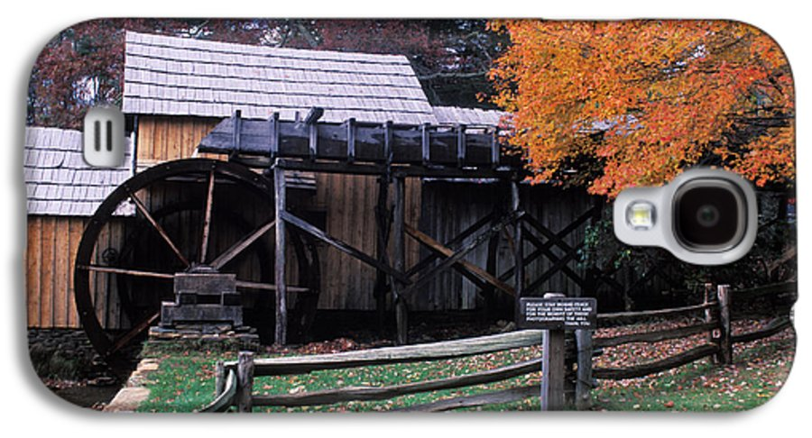 Waterwheel Galaxy S4 Case featuring the photograph Old Mill In Virginia by Carl Purcell