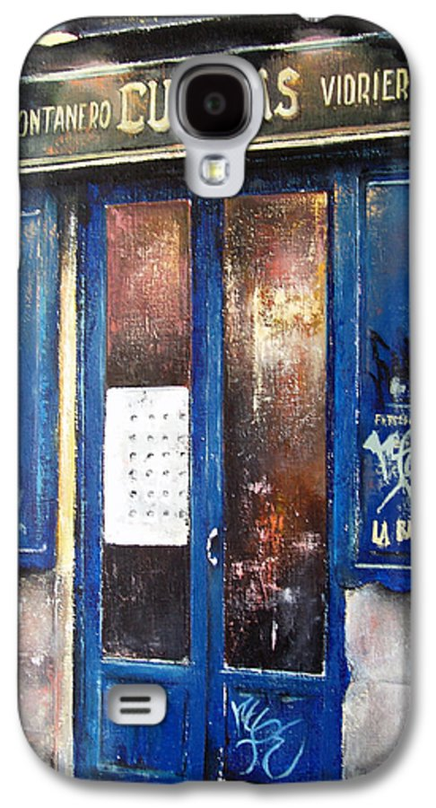 Old Galaxy S4 Case featuring the painting Old Plumbing-madrid by Tomas Castano