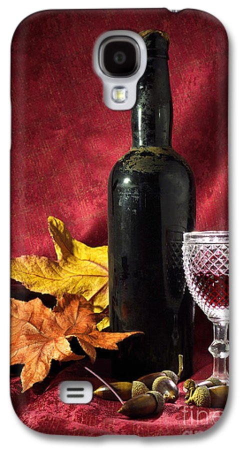 Acorn Galaxy S4 Case featuring the photograph Old Wine Bottle by Carlos Caetano