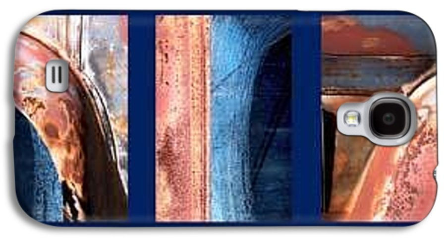 Abstract Galaxy S4 Case featuring the photograph Ole Bill by Steve Karol