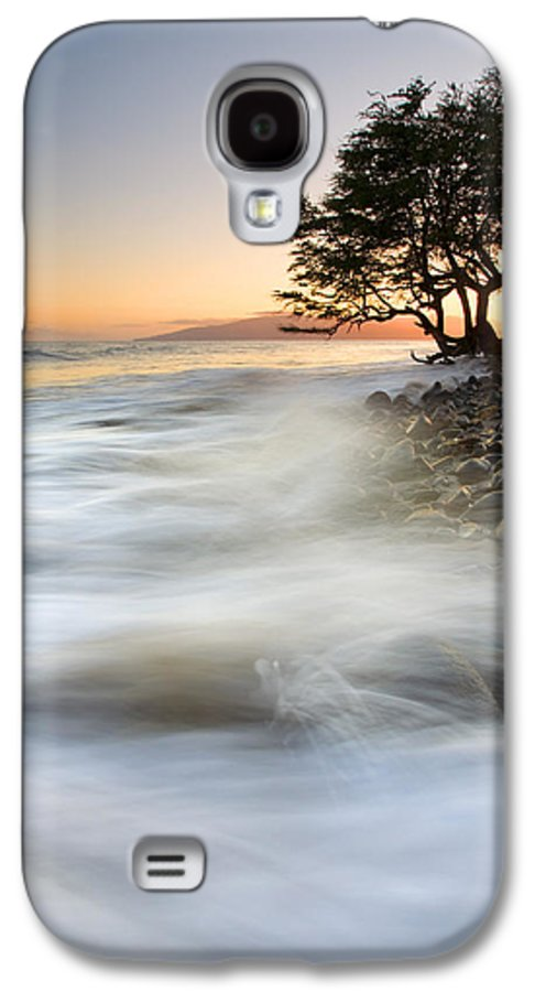 Sunset Galaxy S4 Case featuring the photograph One Against The Tides by Mike Dawson