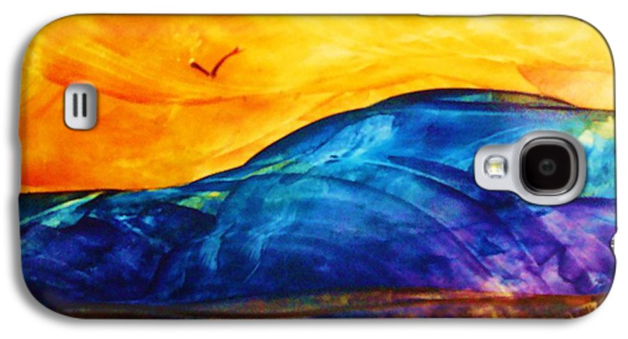 Landscape Galaxy S4 Case featuring the painting One Fine Day by Melinda Etzold