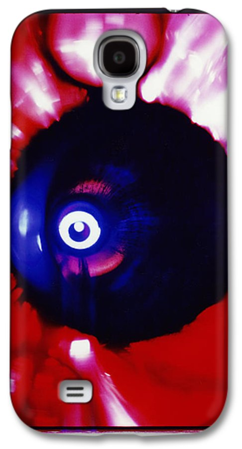 Abstract Galaxy S4 Case featuring the photograph Oracle by David Rivas