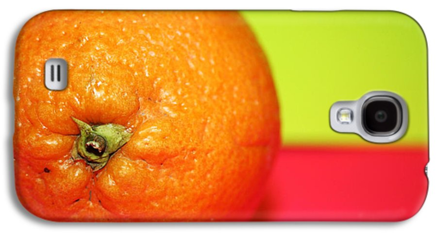 Oranges Galaxy S4 Case featuring the photograph Orange by Linda Sannuti