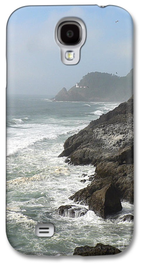 Pacific Galaxy S4 Case featuring the photograph Oregon Coast by Larry Keahey