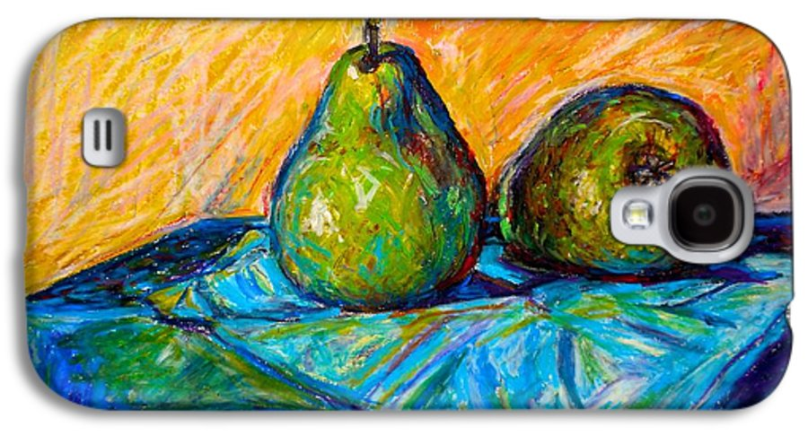 Still Life Galaxy S4 Case featuring the painting Other Pears by Kendall Kessler