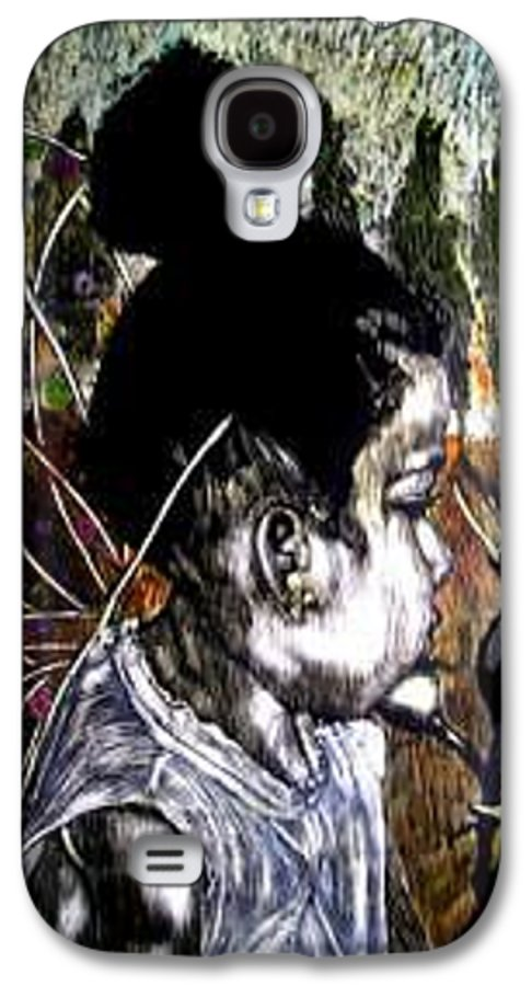 Fantasy Galaxy S4 Case featuring the mixed media Our Farie Princess by Chester Elmore