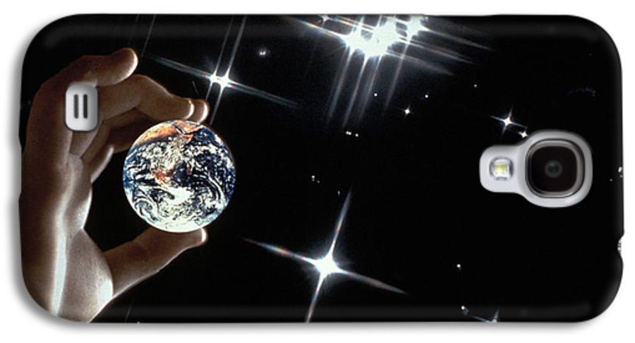 Stars Galaxy S4 Case featuring the photograph Our Precious Planet by Carl Purcell
