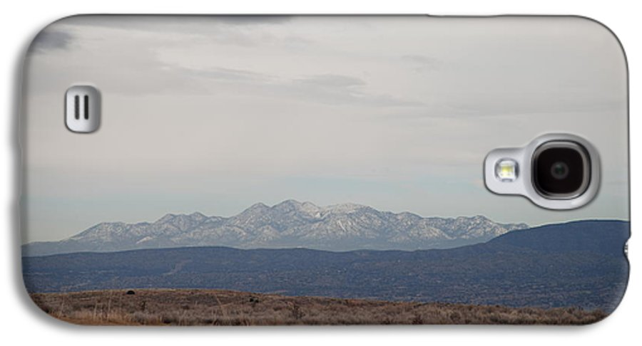 Mountains Galaxy S4 Case featuring the photograph Overcast On The Sandias by Rob Hans