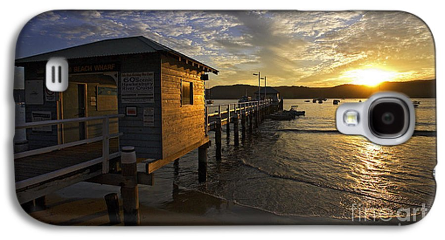 Palm Beach Sydney Australia Sunset Water Pittwater Galaxy S4 Case featuring the photograph Palm Beach Sunset by Sheila Smart Fine Art Photography