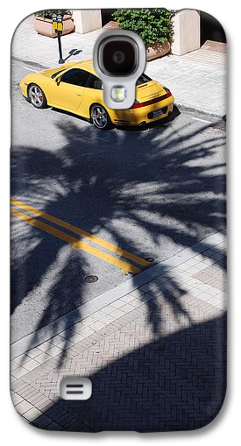 Porsche Galaxy S4 Case featuring the photograph Palm Porsche by Rob Hans