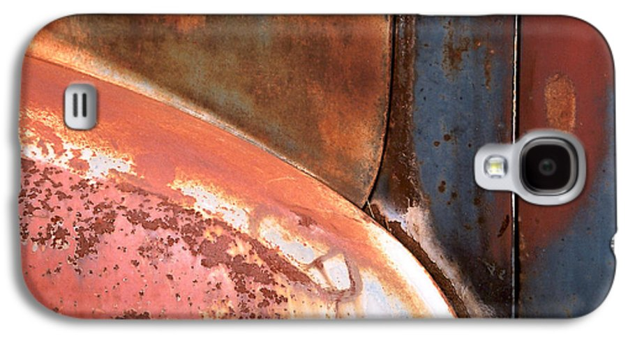 Abstract Galaxy S4 Case featuring the photograph Panel From Ole Bill by Steve Karol