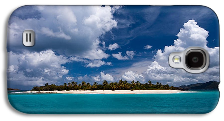 3scape Photos Galaxy S4 Case featuring the photograph Paradise Is Sandy Cay by Adam Romanowicz