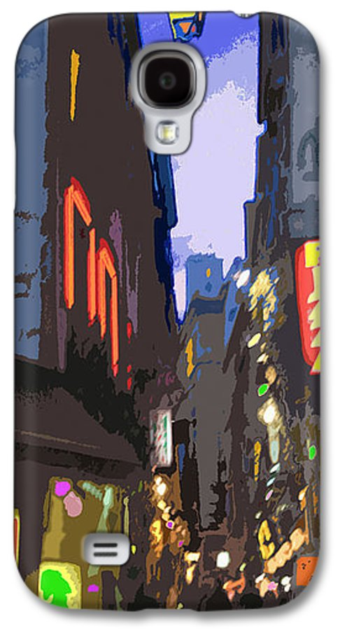 Paris Galaxy S4 Case featuring the photograph Paris Quartier Latin 01 by Yuriy Shevchuk
