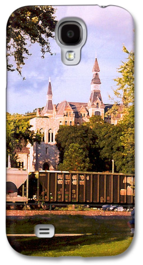 Landscape Galaxy S4 Case featuring the photograph Park University by Steve Karol