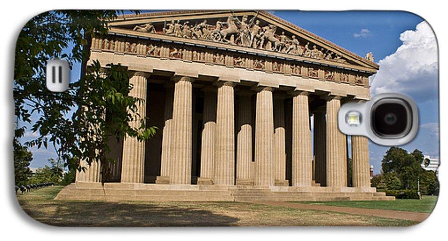 Parthenon Galaxy S4 Case featuring the photograph Parthenon Nashville Tennessee by Douglas Barnett