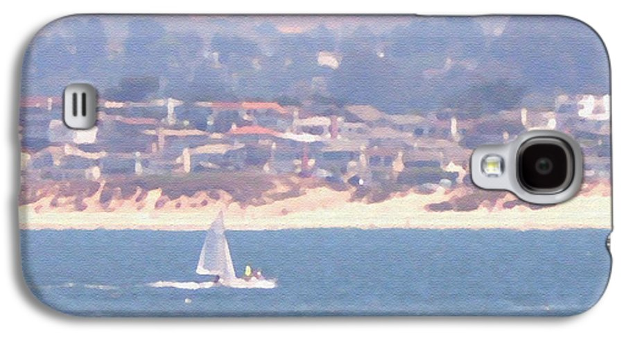 Sailing Galaxy S4 Case featuring the photograph Pastel Sail by Pharris Art