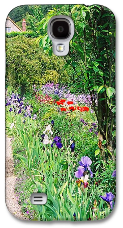 Claude Monet Galaxy S4 Case featuring the photograph Path To Monet's House by Nadine Rippelmeyer