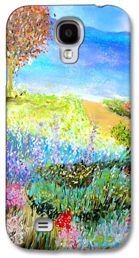 Landscape Galaxy S4 Case featuring the print Patricia's Pathway by Melinda Etzold
