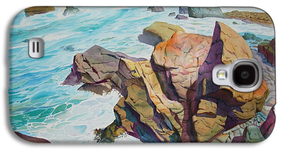Watercolor Galaxy S4 Case featuring the painting Patricks Point by John Norman Stewart