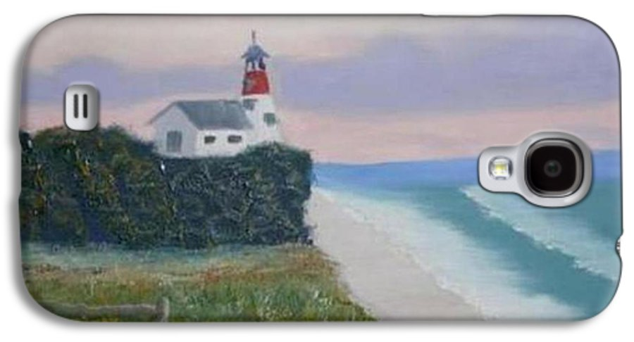 Seascape Galaxy S4 Case featuring the painting Peace Sold by R B
