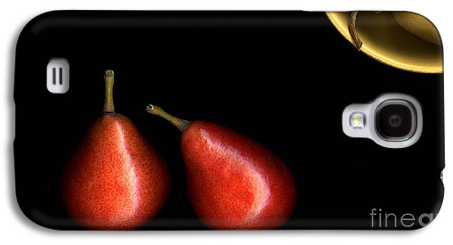 Pears Galaxy S4 Case featuring the photograph Pears And Bowl by Christian Slanec