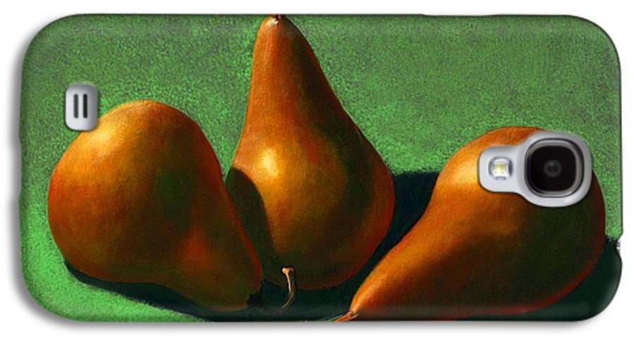 Still Life Galaxy S4 Case featuring the painting Pears by Frank Wilson