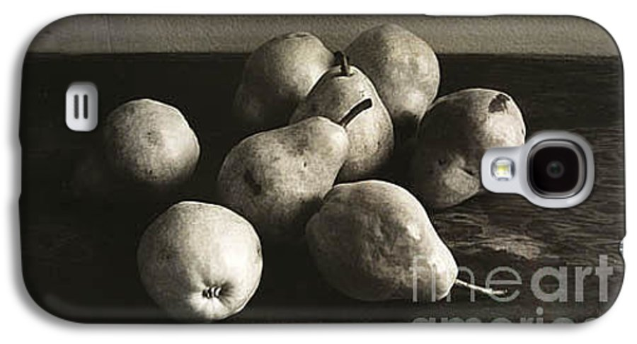 Pears Galaxy S4 Case featuring the photograph Pears by Michael Ziegler