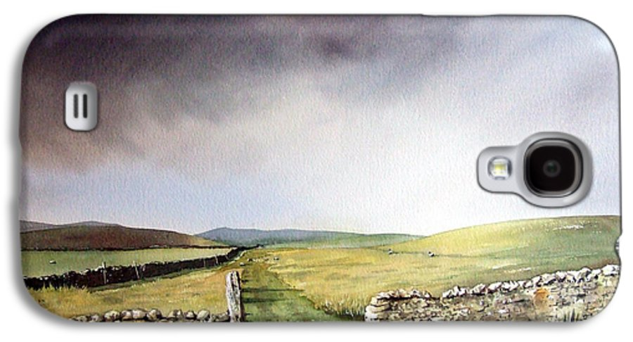 Landscape Galaxy S4 Case featuring the painting Pennine Way by Paul Dene Marlor