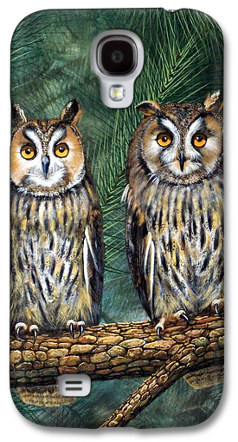 Wildlife Galaxy S4 Case featuring the painting Perfect Strangers by Frank Wilson