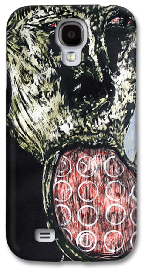 Portrait Galaxy S4 Case featuring the mixed media Persephone by Chester Elmore