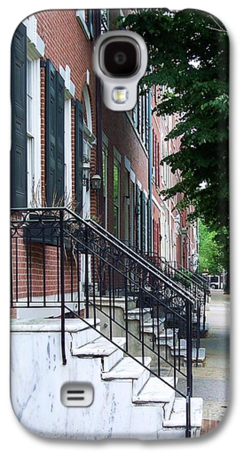 Architecture Galaxy S4 Case featuring the photograph Philadelphia Neighborhood by Debbi Granruth