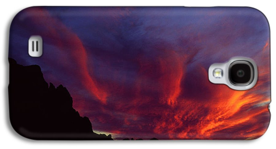 Arizona Galaxy S4 Case featuring the photograph Phoenix Risen by Randy Oberg