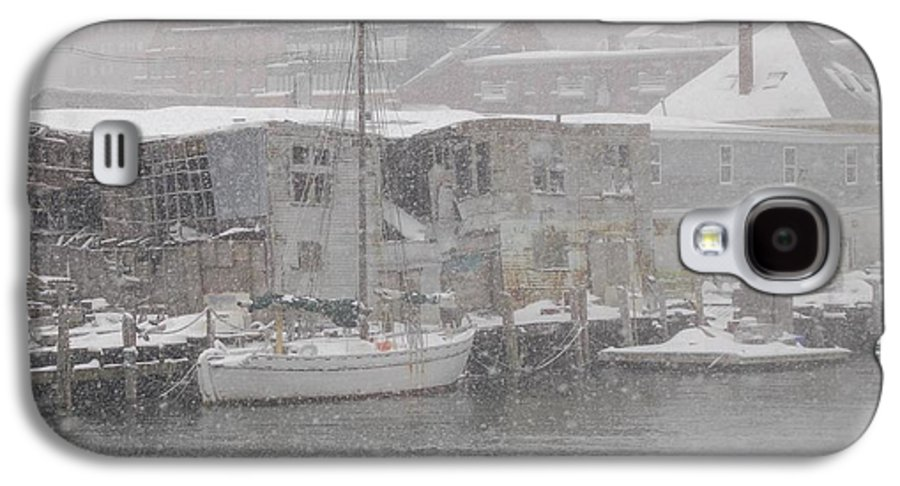 Sail Galaxy S4 Case featuring the photograph Pier In Disrepair by Faith Harron Boudreau
