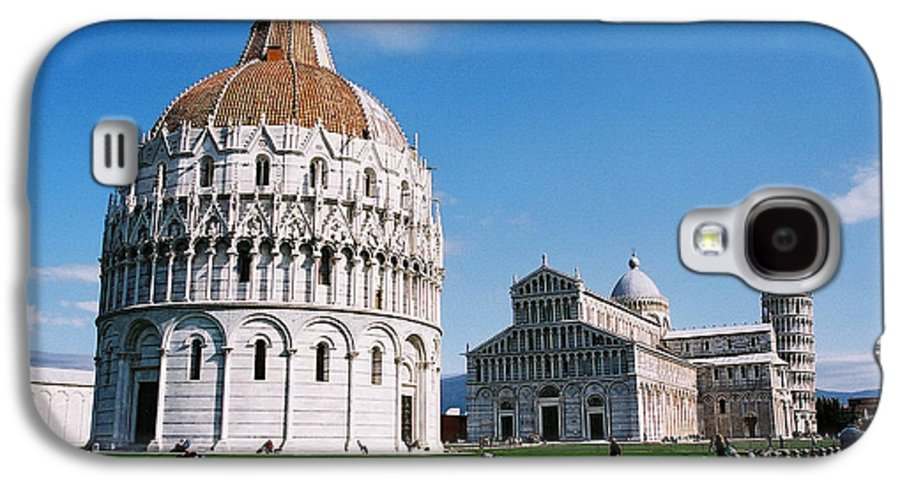 Italy Galaxy S4 Case featuring the photograph Pisa by Kathy Schumann