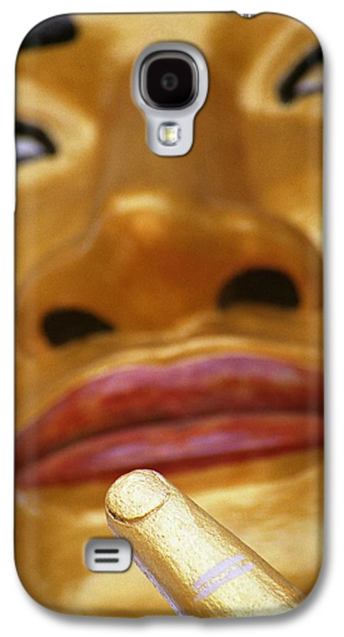 Buddha Galaxy S4 Case featuring the photograph Pointing Buddha by Patrick Klauss