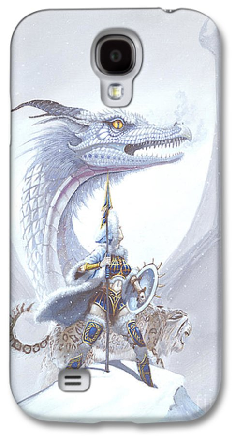 Dragon Galaxy S4 Case featuring the painting Polar Princess by Stanley Morrison