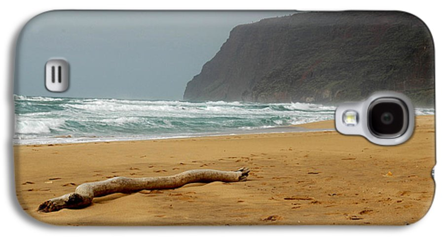 Beach Galaxy S4 Case featuring the photograph Polihale State Park by Kathy Schumann