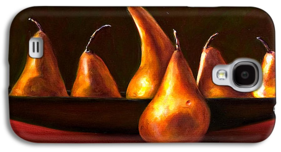 Still Life Galaxy S4 Case featuring the painting Port Au Pear by Shannon Grissom