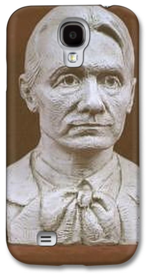 Rudolf Steiner Galaxy S4 Case featuring the sculpture Portrait Bust Of Rudolf Steiner by David Dozier