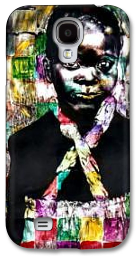 Portrait Galaxy S4 Case featuring the mixed media Precious by Chester Elmore