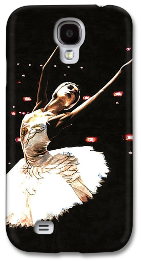 Prima Ballerina Galaxy S4 Case featuring the painting Prima Ballerina by Richard Young