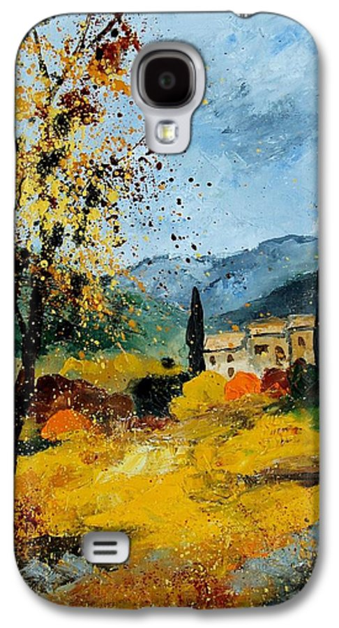 Provence Galaxy S4 Case featuring the painting Provence 45 by Pol Ledent