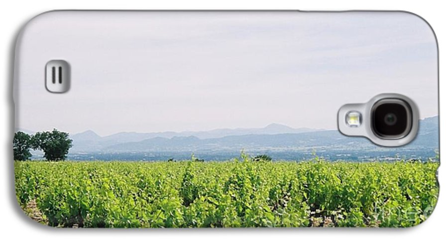 France Galaxy S4 Case featuring the photograph Provence Spring Vineyard by Nadine Rippelmeyer