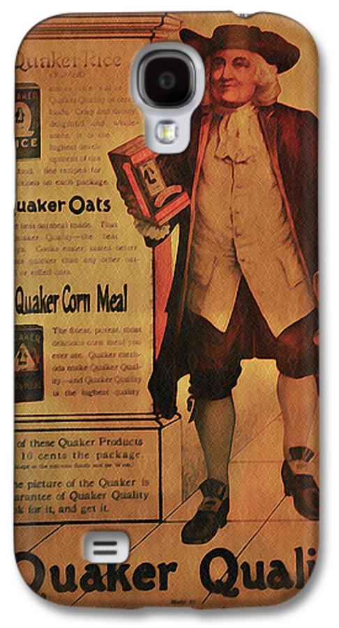 Quaker Galaxy S4 Case featuring the photograph Quaker Quality by Bill Cannon